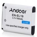 Baterie Nikon EN-EL19 700mAh Li-Ion 3,7V neoriginální