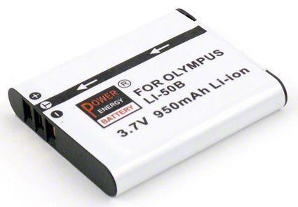 Baterie Olympus LI-50B, Pentax D-Li92, Ricoh DB-100 - 950 mAh Power Energy Battery