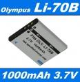 Baterie Olympus Li-70B 1000mAh 3,7V Li-Ion neoriginální