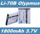 Baterie Olympus Li-70B 1800mAh 3,7V Li-Ion neoriginální