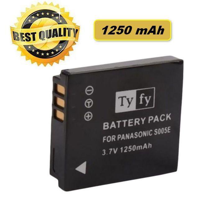 Baterie Panasonic CGA-S005E, CGA-S005, DMW-BCC12, BP-DC4-E, DB-60 1250mAh 3,7V Li-Ion