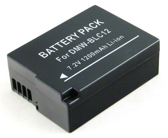 Baterie Panasonic DMW-BLC12 - 1200 mAh Power Energy Battery