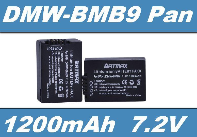 Baterie Panasonic DMW-BMB9E 1200mAh Li-Ion 7.2V