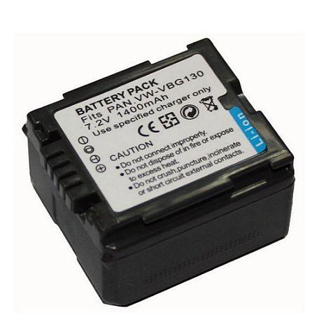 Baterie Panasonic VW-VBG130 1400mAh 7,2V Li-Ion