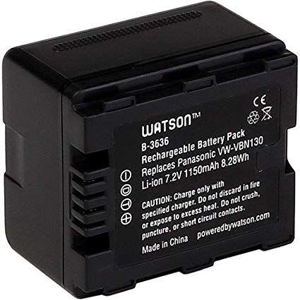 Baterie Panasonic VW-VBN130 1100mAh s čipem