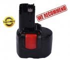 Baterie BAT048, BAT100 3000mAh 9,6V Ni-MH pro Bosch 32609, PSR 960 neoriginální