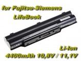 Baterie pro Fujitsu-Siemens LifeBook, Biblo 4400mAh 11,1V Li-Ion nahrazuje ORIGINÁL