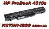 Baterie HSTNN-IB89, HSTNN-OB89 pro HP ProBook 4510s, 4515s, 4710s 4400mAh 11,1V