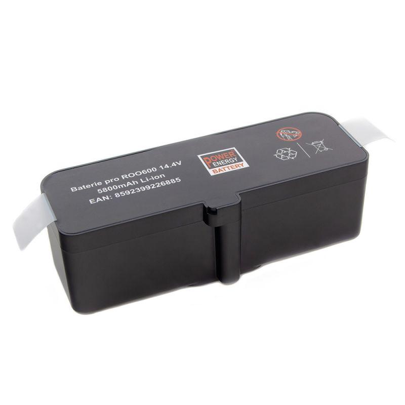 Baterie pro iRobot Roomba 500, 600, 700, 800, 900, Scooba 450 - 5800 mAh - Li-Ion