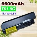 Baterie pro Lenovo ThinkPad R400, R61, R61i, T400, T61 6600mAh Li-Ion 11,1V
