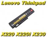 Baterie IBM Lenovo ThinkPad X220, X220i, X220s, X230, X230i 4400mAh Li-Ion nahrazuje ORIGINÁL
