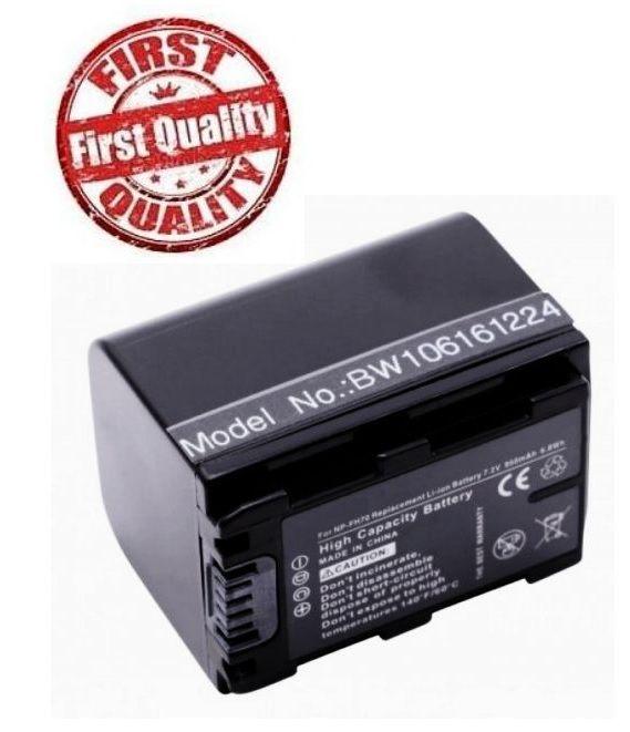 Baterie Sony NP-FH30, NP-FH70 950mAh s info čipem