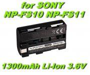 Baterie NP-FS10, NP-FS11 pro kameru Sony DCR-PC1, DCR-TRV1VE, CCD-CR1 1300mAh nahrazuje ORIGINÁL