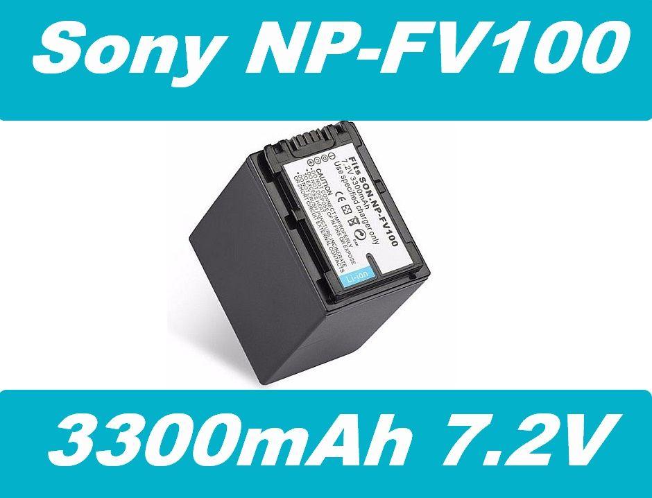 Baterie Sony NP-FV100, NP-FV90 3300mAh 7.2V Li-Ion nahrazuje ORIGINÁL