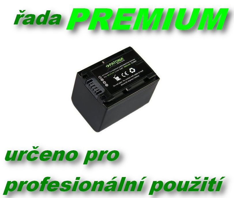 Baterie Sony NP-FV30, NP-FV50, NP-FV70, NP-FV90, NP-FV100 1600mAh PREMIUM