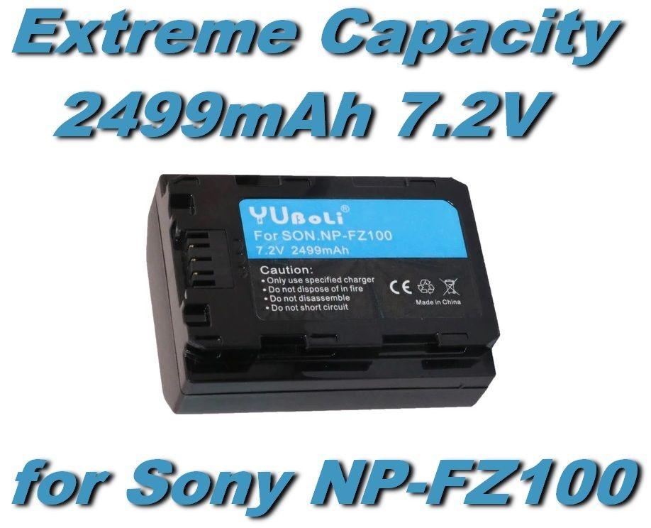 Baterie SONY NP-FZ100, NPFZ100 2499mAh 7.2V Li-Ion
