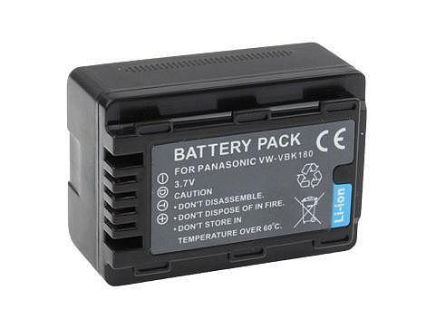 Baterie VW-VBK180, VW-VBK180E-K, VW-VBK180GK, VW-VBK360, VW-VBL090 1600mAh pro kameru Panasonic