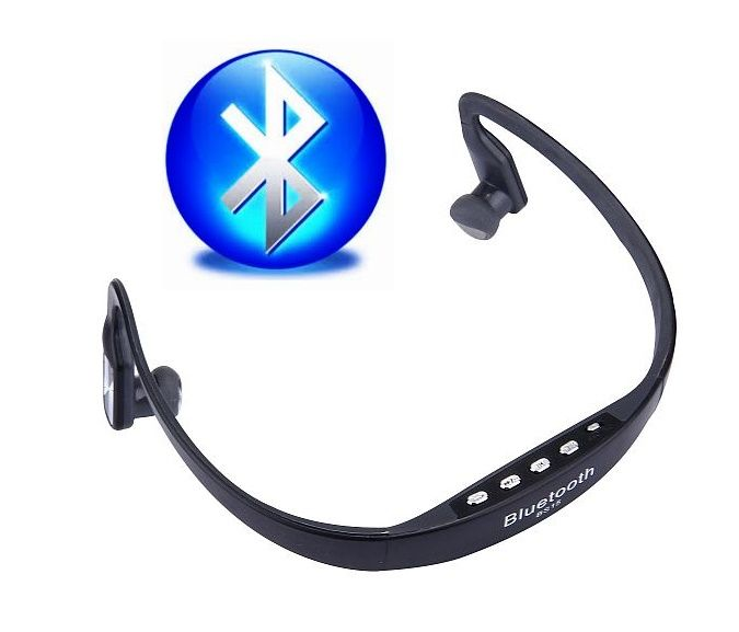 Bezdrátová bluetooth stereo sluchátka BS15 Sport s mikrofonem HEADSET