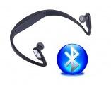 Bezdrátová bluetooth stereo sluchátka BS15 Sport s mikrofonem a ovládáním TopTechnology