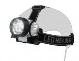 Čelovka, čelová svítilna LED 7 diod, 35 lm