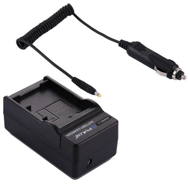 Nabíječka baterie Canon LP-E17, LPE17 + adaptér 12V do auta