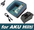 Nabíječka AKU baterií Hilti napětí 21,6V - 36V Ni-CD, Ni-MH, Li-Ion neoriginální