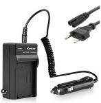 Nabíječka baterie BN-VF808 BN-VF815 BN-VF823 pro videokameru JVC 2in1 - neoriginální