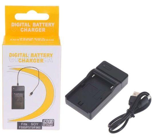 USB Nabíječka baterie NP-FM50, NP-FM30, NP-F550, NP-F750 pro fotoaparát, kameru SONY