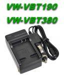 Nabíječka baterie Panasonic VW-VBT190, VW-VBT380 2in1 neoriginální