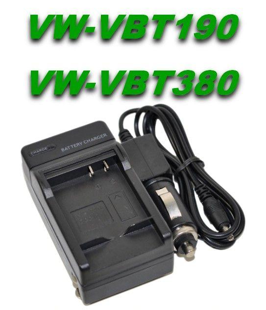 Nabíječka baterie Panasonic VW-VBT190, VW-VBT380 2in1