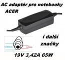 Nabíječka notebooku, AC adaptér Acer 19V 3,42A 5,5x1,7mm neoriginální