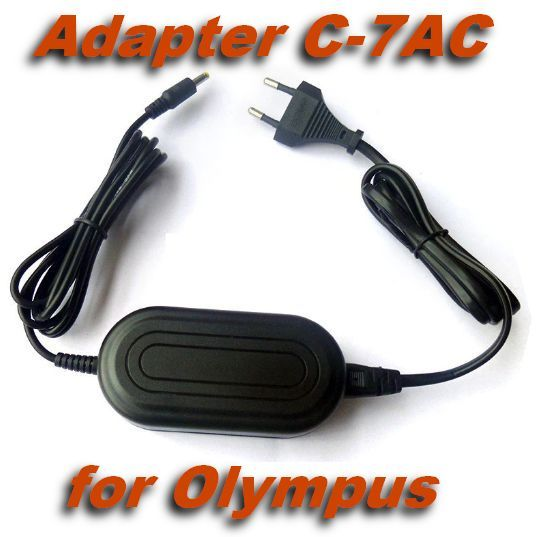 Adaptér, zdroj C-7AC pro fotoaparát Olympus nahrazuje ORIGINÁL