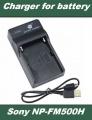 USB Nabíječka baterie Sony NP-F330, NP-F530, NP-F550, NP-F730H, NP-F750 flexibilní, neoriginální