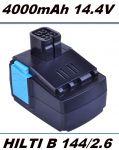 Baterie, AKU Hilti B144 14,4V 4000mAh Li-ion nahrazuje ORIGINÁL