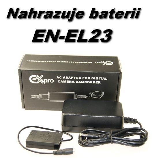 Zdroj pro Nikon EH-67A + EP-67A nahrazuje EN-EL23
