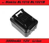 Baterie Makita BL1021B, BL1041B, BL1015B, BL1020B, BL1040B 3000mAh 12V