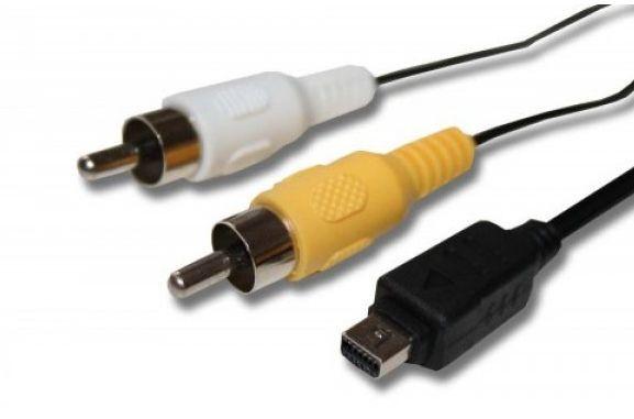 AV kabel pro fotoaparáty Olympus 12 pin CB-USB5, CB-USB6