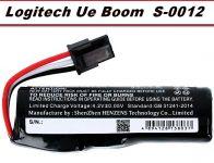 Baterie 533-000105 Logitech UE Boom, S-0012 2600mAh nahrazuje ORIGINÁL