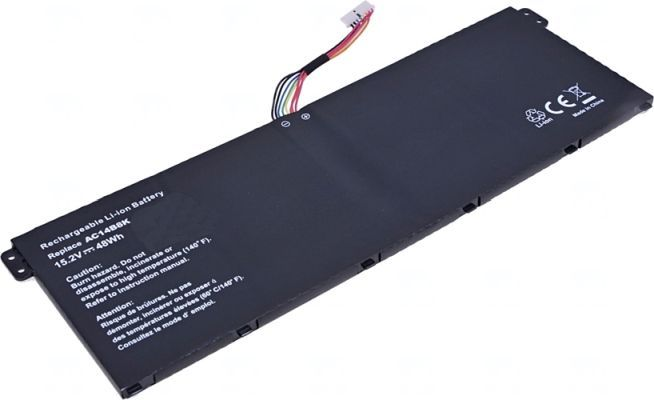 Baterie AC14B8K pro notebook Acer Aspire, TravelMate 15,2V