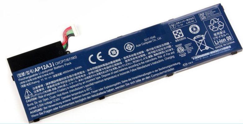 Baterie AP12A3i, AP12A4i pro Acer Aspire M3, M4 4850mAh