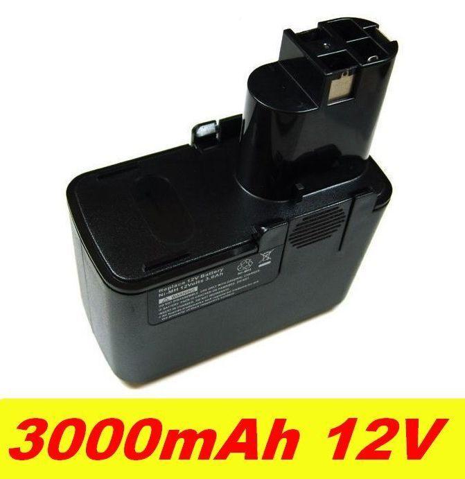 Baterie pro AKU Bosch 3300K 3000mAh 12V Ni-MH