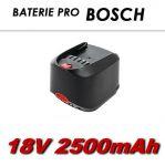 AKU baterie Bosch 18V Li-Ion 2500mAh nahrazuje ORIGINÁL