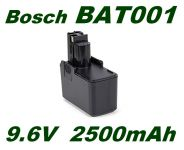 AKU baterie Bosch BAT001 9,6V 2500mAh Ni-MH