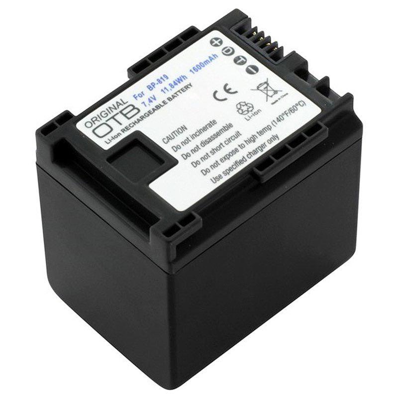 Baterie Canon BP-819, BP-820, BP-827, BP-828 1600mAh