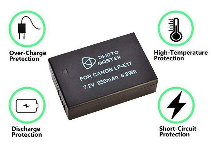 Baterie Canon LP-E17 950mAh