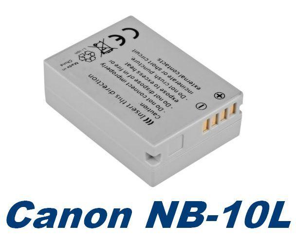 Baterie Canon NB-10L 800mAh