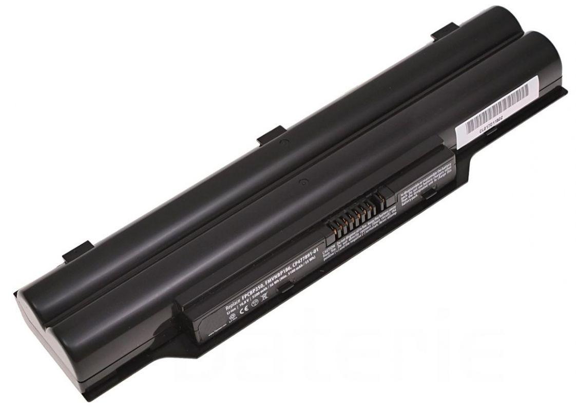 Baterie FPCBP250 pro Fujitsu Siemens LifeBook LH530,  AH530, A531, E741, AH56 5200mAh