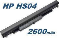 Baterie HP HS04, HS03, HSTNN-LB6V pro HP 240 G4, HP 250 G4 14,4V / 14,8V 2600mAh nahrazuje ORIGINÁL