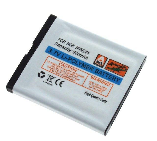 Baterie Nokia N95, N96, 6210 Navigator, E65, N93i 900mAh Li-Pol