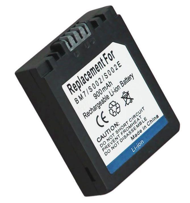 Baterie Panasonic CGA-S002E, CGR-S002E 900mAh